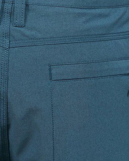 12 A/Div Surftrek Heather Shorts Blue 9503701 Billabong