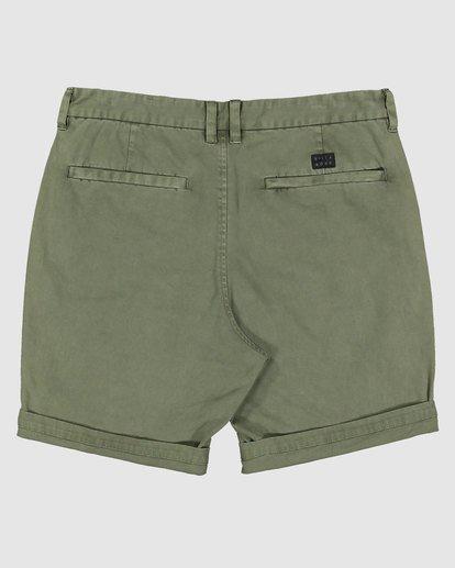 1 Wave Wash Twill Shorts Camo 9503706 Billabong