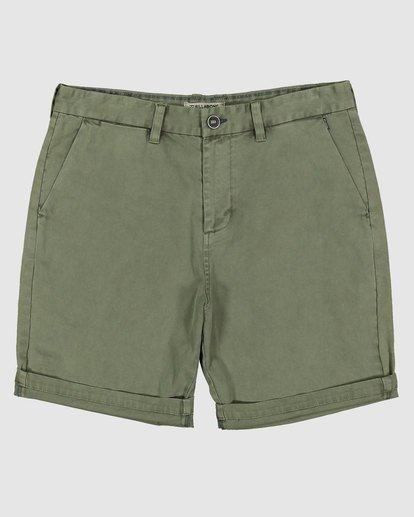 0 Wave Wash Twill Shorts Camo 9503706 Billabong