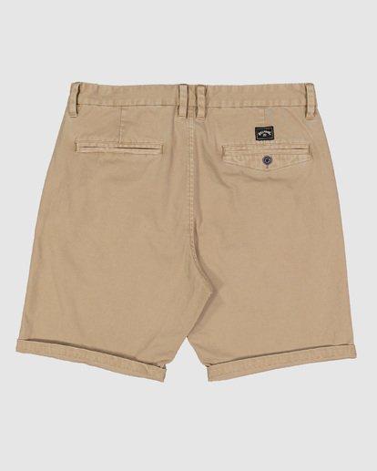 1 Wave Wash Twill Shorts Green 9503706 Billabong