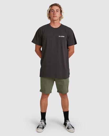 5 Wave Wash Twill Shorts Camo 9503706 Billabong