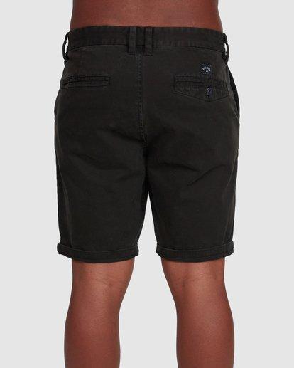 4 Wave Wash Twill Shorts Black 9503706 Billabong