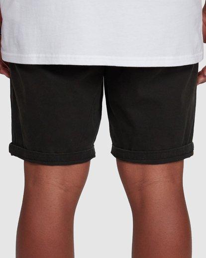 7 Wave Wash Twill Shorts Black 9503706 Billabong