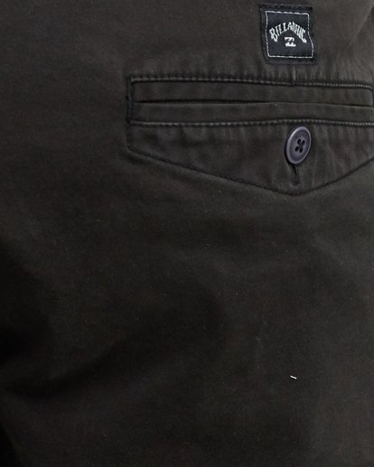 12 Wave Wash Twill Shorts Black 9503706 Billabong