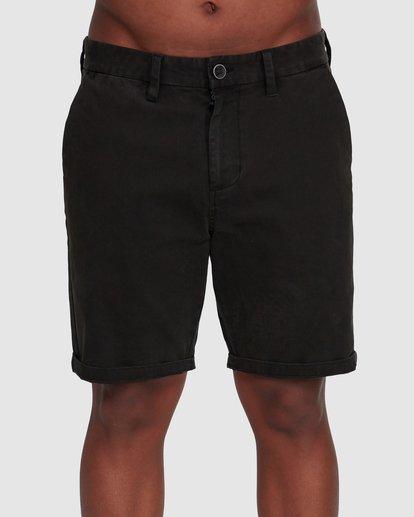 2 Wave Wash Twill Shorts Black 9503706 Billabong