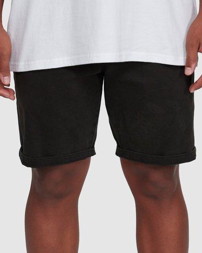 5 Wave Wash Twill Shorts Black 9503706 Billabong