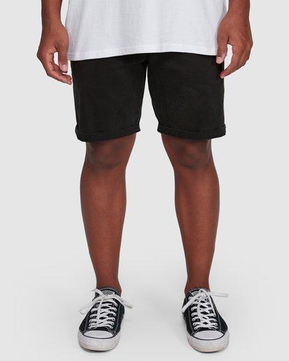 8 Wave Wash Twill Shorts Black 9503706 Billabong