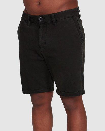 3 Wave Wash Twill Shorts Black 9503706 Billabong