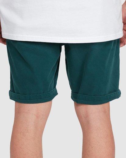 7 Wave Wash Twill Shorts Green 9503706 Billabong