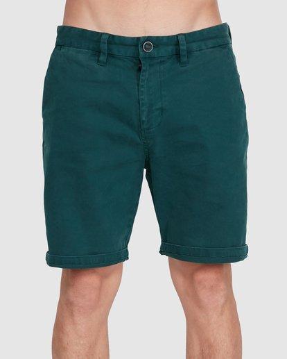 2 Wave Wash Twill Shorts Green 9503706 Billabong