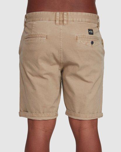 4 Wave Wash Twill Shorts Green 9503706 Billabong