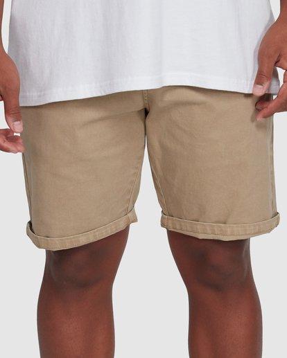 5 Wave Wash Twill Shorts Green 9503706 Billabong