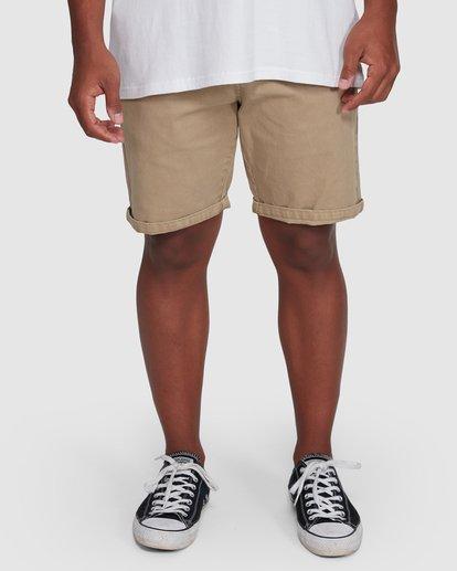 8 Wave Wash Twill Shorts Green 9503706 Billabong