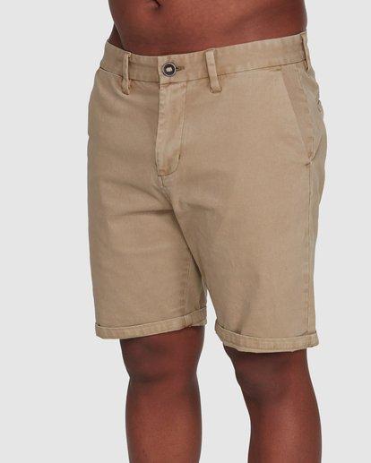 3 Wave Wash Twill Shorts Green 9503706 Billabong