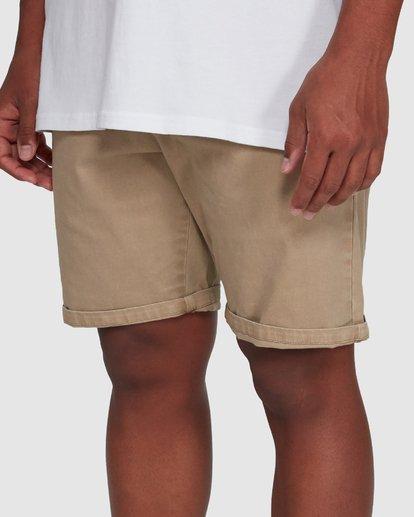6 Wave Wash Twill Shorts Green 9503706 Billabong