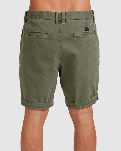 4 Wave Wash Twill Shorts Camo 9503706 Billabong
