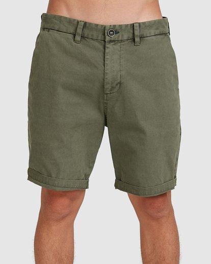 2 Wave Wash Twill Shorts Camo 9503706 Billabong