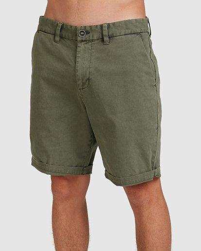3 Wave Wash Twill Shorts Camo 9503706 Billabong