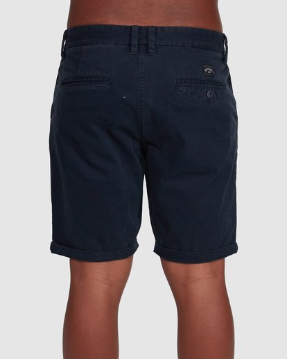 4 Wave Wash Twill Shorts Blue 9503706 Billabong