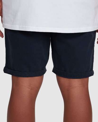 7 Wave Wash Twill Shorts Blue 9503706 Billabong