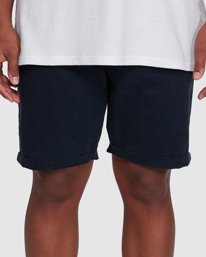 5 Wave Wash Twill Shorts Blue 9503706 Billabong