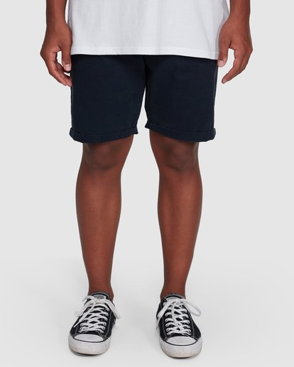 8 Wave Wash Twill Shorts Blue 9503706 Billabong