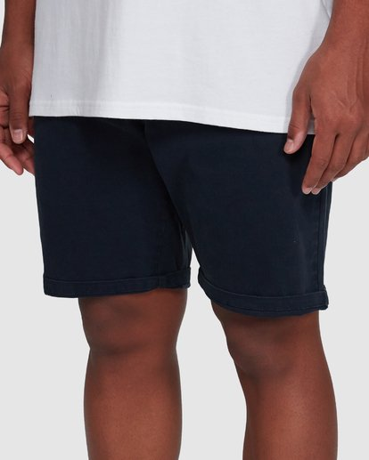 6 Wave Wash Twill Shorts Blue 9503706 Billabong