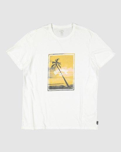 5 Sunshine Happy Short Sleeve Tee White 9504001 Billabong