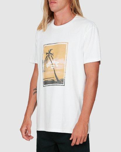 1 Sunshine Happy Short Sleeve Tee White 9504001 Billabong