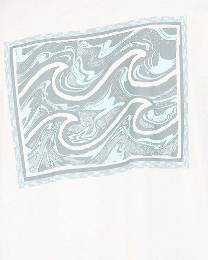 4 Warped Froth Short Sleeve Tee Pink 9504002 Billabong