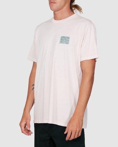 1 Warped Froth Short Sleeve Tee Pink 9504002 Billabong