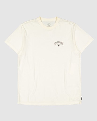 5 Arch Die Short Sleeve Tee White 9504005 Billabong