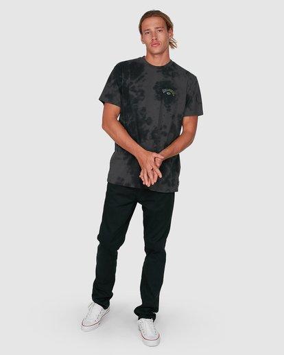7 Arch Die Short Sleeve Tee Black 9504005 Billabong