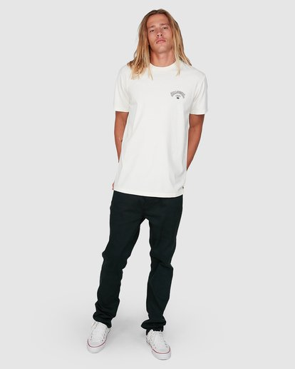 7 Arch Die Short Sleeve Tee White 9504005 Billabong