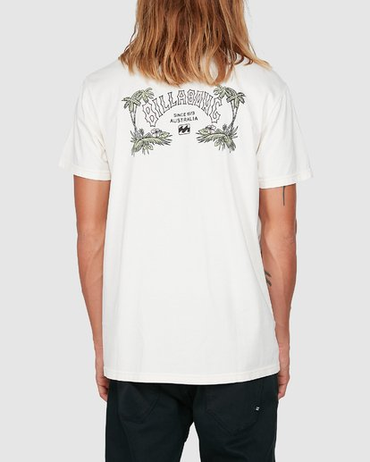 2 Arch Die Short Sleeve Tee White 9504005 Billabong