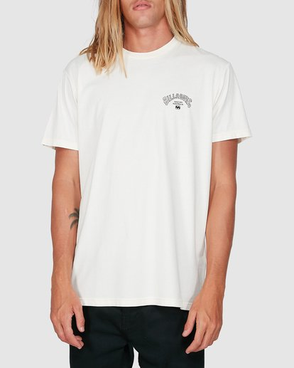 0 Arch Die Short Sleeve Tee White 9504005 Billabong