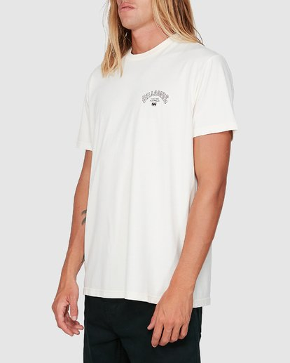 1 Arch Die Short Sleeve Tee White 9504005 Billabong