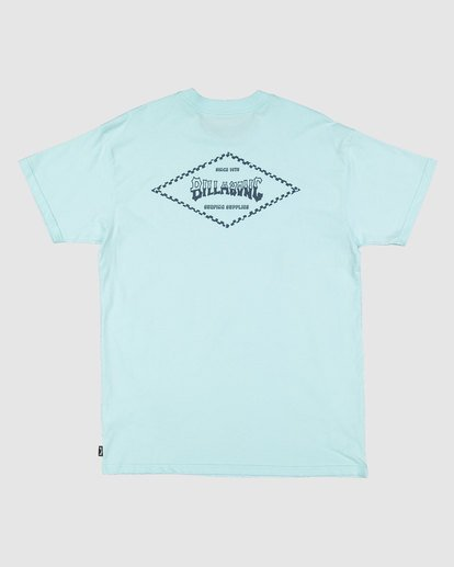 5 Checked Diamond Short Sleeve Tee Green 9504008 Billabong