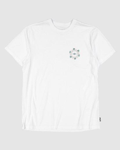 5 Mole Hole Short Sleeve Tee White 9504009 Billabong