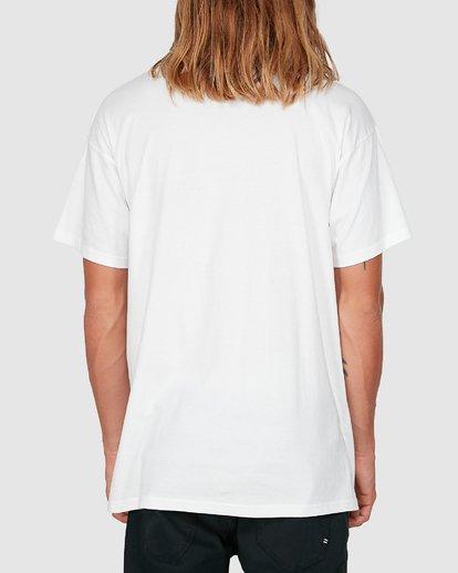 2 Banded Diecut Short Sleeve Tee White 9504011 Billabong