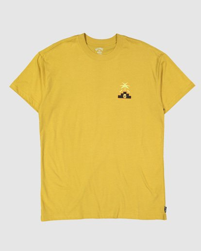 5 Tribal Short Sleeve Tee Yellow 9504014 Billabong