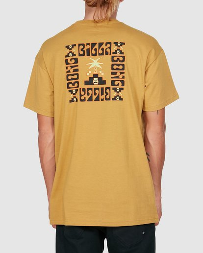 2 Tribal Short Sleeve Tee Yellow 9504014 Billabong