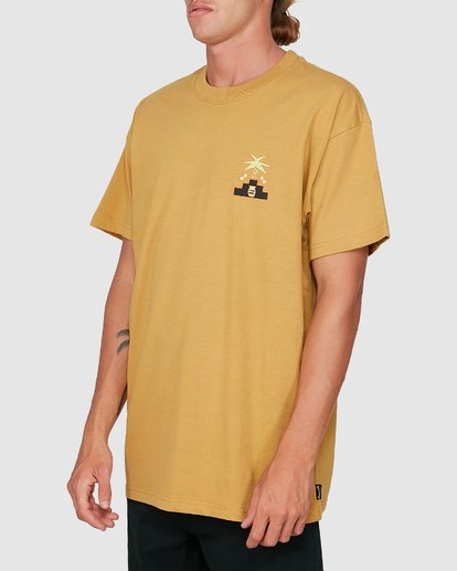 1 Tribal Short Sleeve Tee Yellow 9504014 Billabong