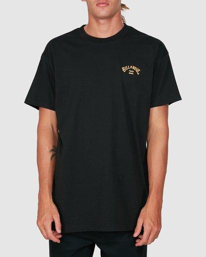0 Wave Arch Short Sleeve Tee Black 9504022 Billabong