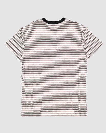 1 Understated Stripe Short Sleeve Tee White 9504025 Billabong