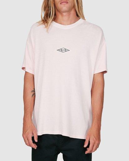 0 Waffle Wave Short Sleeve Tee Pink 9504028 Billabong