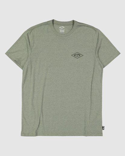 5 Adiv Diamond Short Sleeve Tee Green 9504030 Billabong