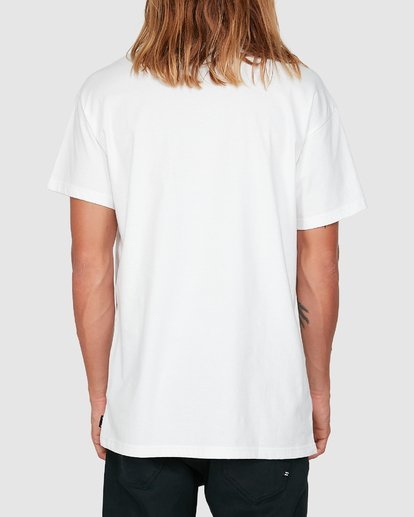 2 Smitdog Short Sleeve Tee White 9504032 Billabong