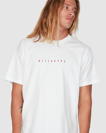 3 Smitdog Short Sleeve Tee White 9504032 Billabong