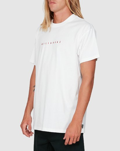 1 Smitdog Short Sleeve Tee White 9504032 Billabong